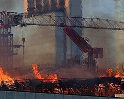 Alışveriş Merkezi İnşaatında Yangın