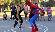 Sokak Basketbol Ustasının Spiderman Kıyafeti Giyip Trollenmesi