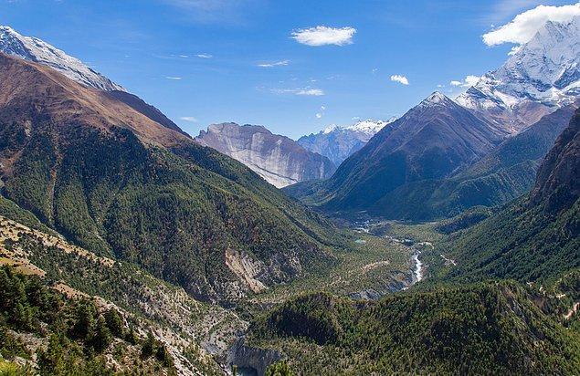 1. Annapurna Rotası, Nepal