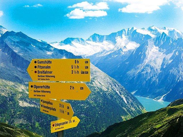 3. Zillertal Alps, Avusturya