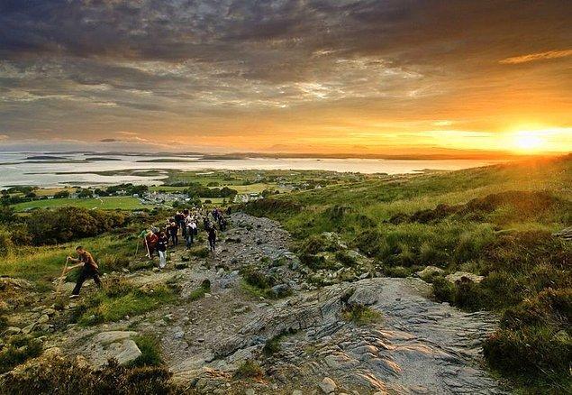 4. Croagh Patrick, İrlanda