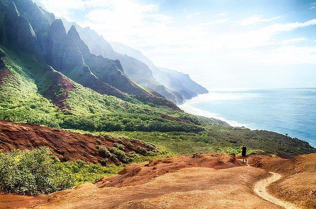 5. Kalalau Rotası, Kauai, Hawaii, Amerika