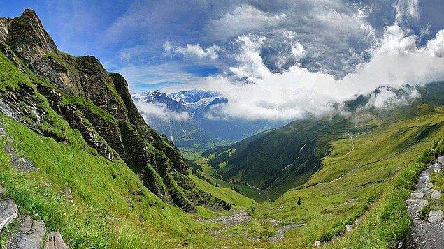 12. Grindelwald, İsviçre