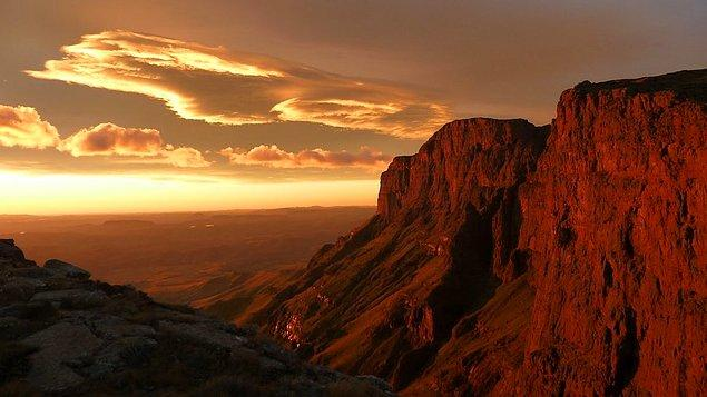 16. North Drakensberg Traverse, Güney Afrika