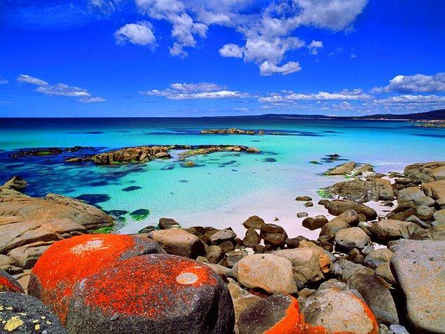 19. Bay of Fires, Tazmanya, Avustralya