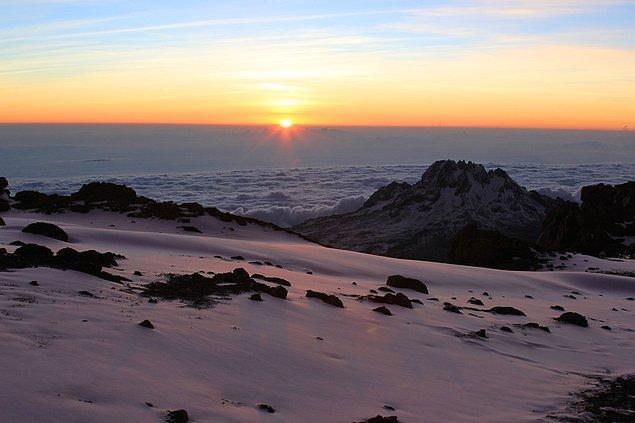 23. Kilimanjero Dağı, Tanzanya