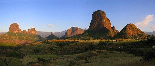 24. Simien Mountains Doğa Parkı, Etiyopya
