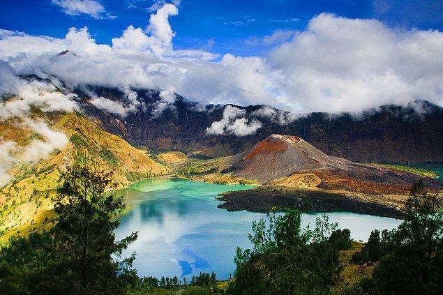 29. Gunung Rinjani, Endonezya