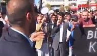 """Elazığlı Tek Başına Göstericileri Durdurdu: """"Ne Kürdistan'ı be"""""""