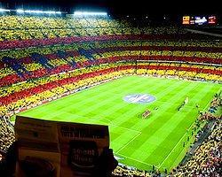 Barcelona'dan Bağımsızlığa Destek