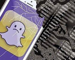 iCloud'dan Sonra, Snapchat de Hacklendi!