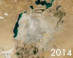 NASA, Doğadaki Tahribatı Uzaydan Görüntüledi