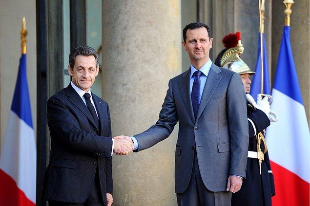 12. Eski Fransa Cumhurbaşkanı Sarkozy