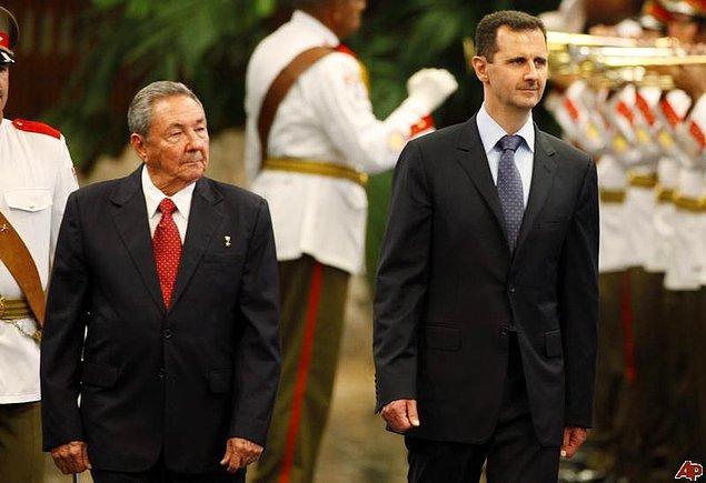 11. Küba Komünist Partisi Genel Sekreteri Raul Castro