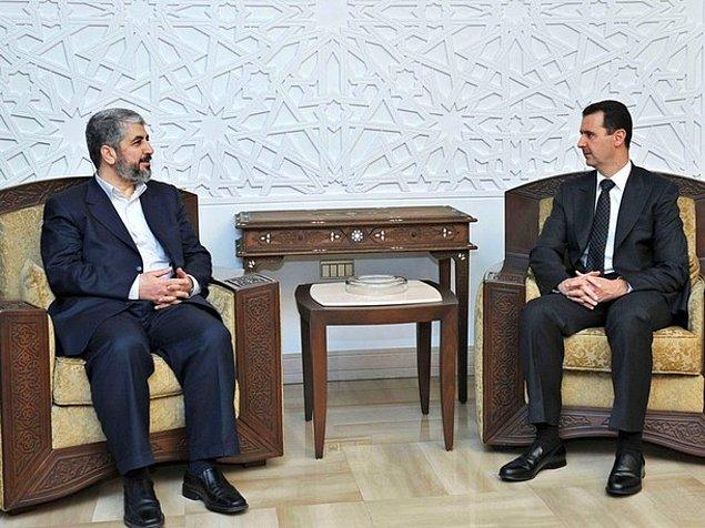 6. Hamas Siyasi Lideri Halid Meşal