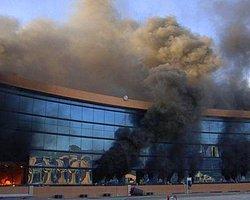 Meksika'da Göstericiler Hükümet Binasını Ateşe Verdi