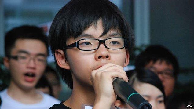 21. Joshua Wong, 18 yaşında - Aktivist