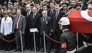 Devletin Zirvesi Doğan Güreş'in Cenazesindeydi