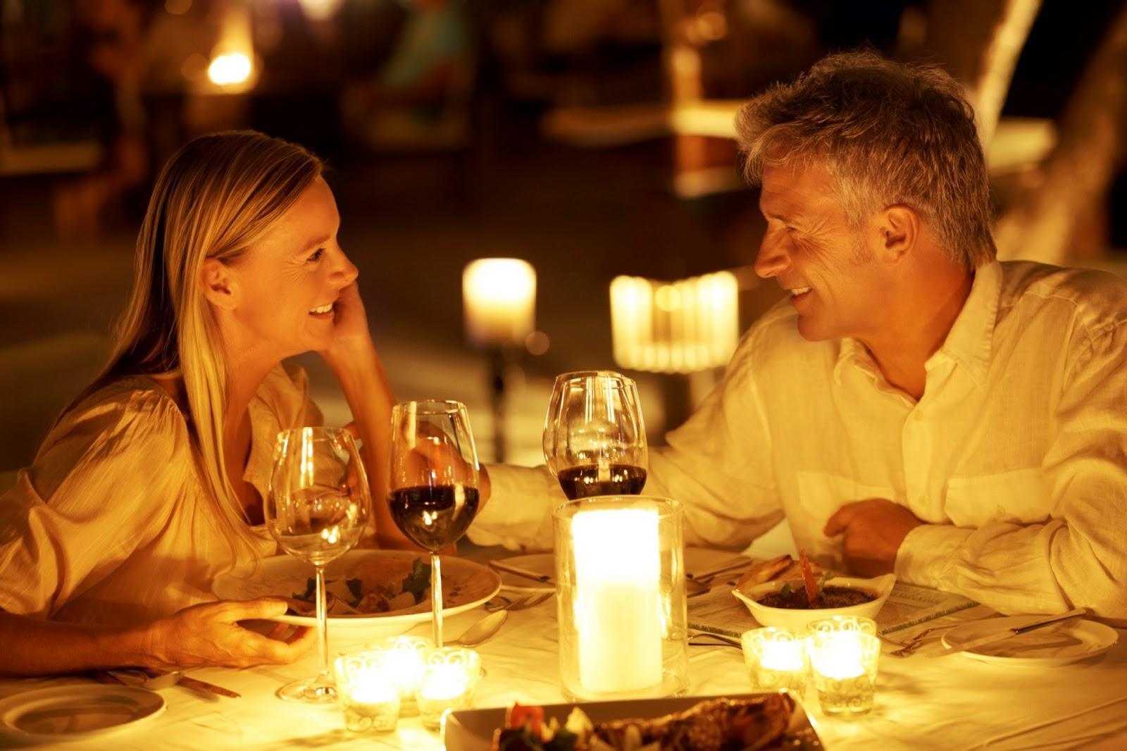 Секс ужин при свечах 13 фотография