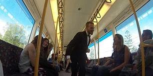 Partilemede Raydan Çıkan Avustralya Metrosu