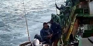 Balıkları Peynir Ekmek Gibi Avlayan Balıkçılar