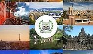 Milyonlarca Oyla 2015'in Ziyaret Edenleri Pişman Etmeyen, En İyi 25 Şehri