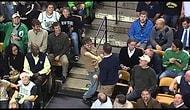 Celtics taraftarindan Bon Jovi show boyle bir sey gormediniz