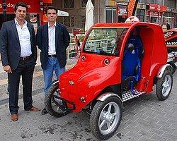 """Elektrikle Çalışan """"Ekolojik Türk Otomobili"""" Ürettiler"""