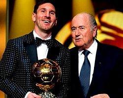 Blatter'den Messi'yi Şok Eden Açıklama