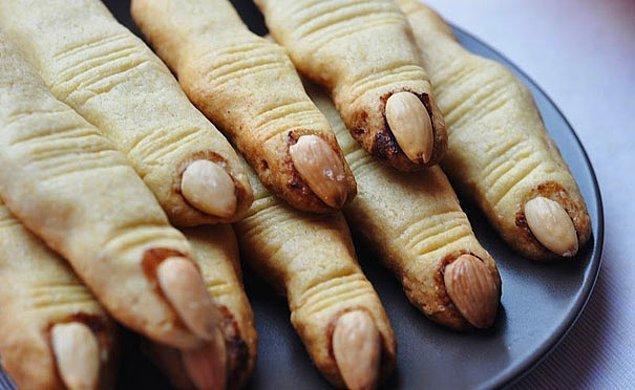5. Cadı parmağı kurabiyeleri
