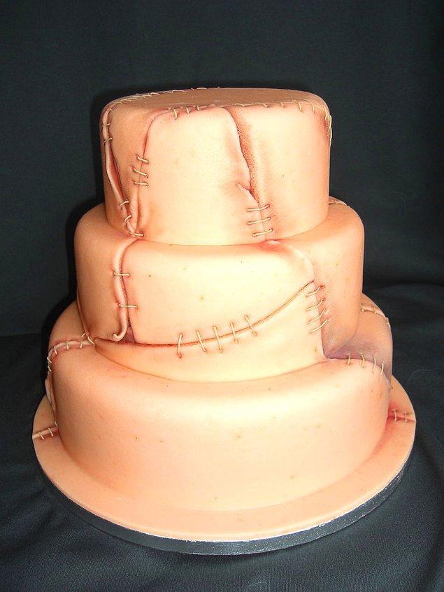 19. Deri kaplı pasta