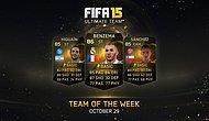 FIFA 15 Haftanın Takımı TOTW 7 Yayınlandı