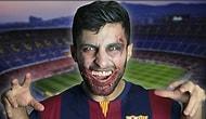 Luis Suarez'li Cadılar Bayramı Zombi Şakası