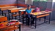 Aileler Çocuklarını Okula Göndermedi,7 Yaşındaki Engelli Selen Sınıfta Yalnız Kaldı