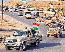 İkinci Peşmerge Konvoyu Kobani'ye Gitti