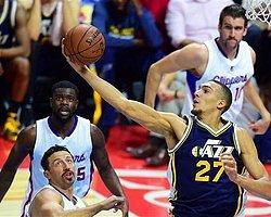 Hido'lu Clippers Enes'li Utah'ı Devirdi