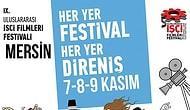 9. Uluslararası İşçi Filmleri Festivali Mersin'de Başlıyor