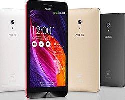 ASUS'un ZenFone Modelleri Nisan'da Android 5.0 Lollipop'u Alacak