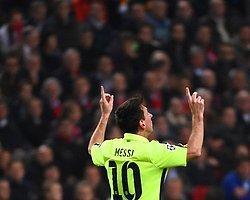 Messi Raul'u Yakaladı
