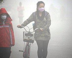 Çin'de Hava Kirliliğinden Yılda 670 Bin Ölüm