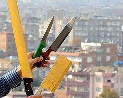 Diyarbakır'da Kesici Aletler Yasaklandı