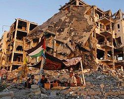 Gazze'ye 256 TIR İnşaat Malzemesi