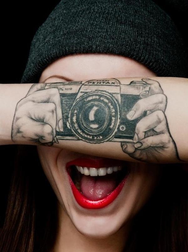 Необычные и прикольные тату 41 фото