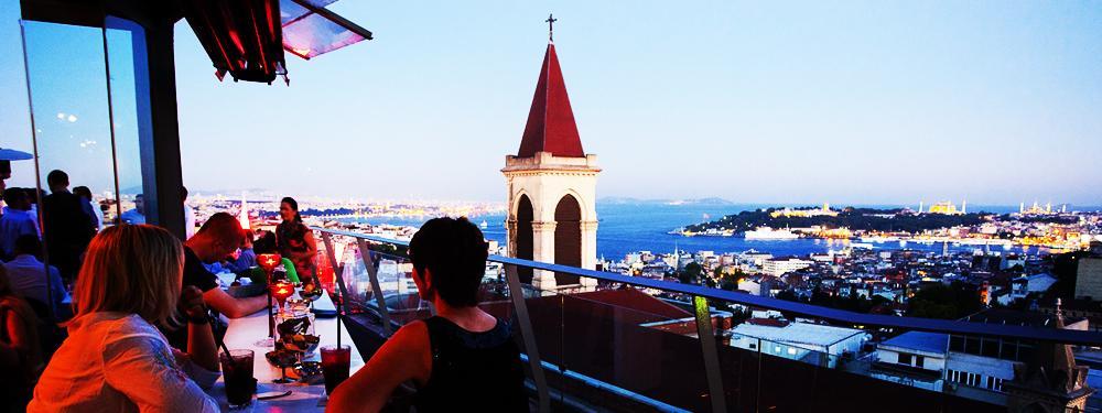 İstanbul'un En Güzel 10 Teras Restaurant ve Barı