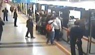 İzmir'de Metro'da Kalbine Yenik Düştü
