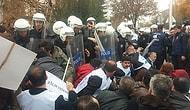 Meclis Önündeki 'Bütçe' Protestosuna Gazlı Müdahale