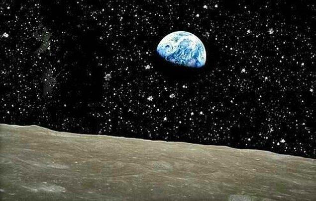 10. Ay'dan Dünyamız