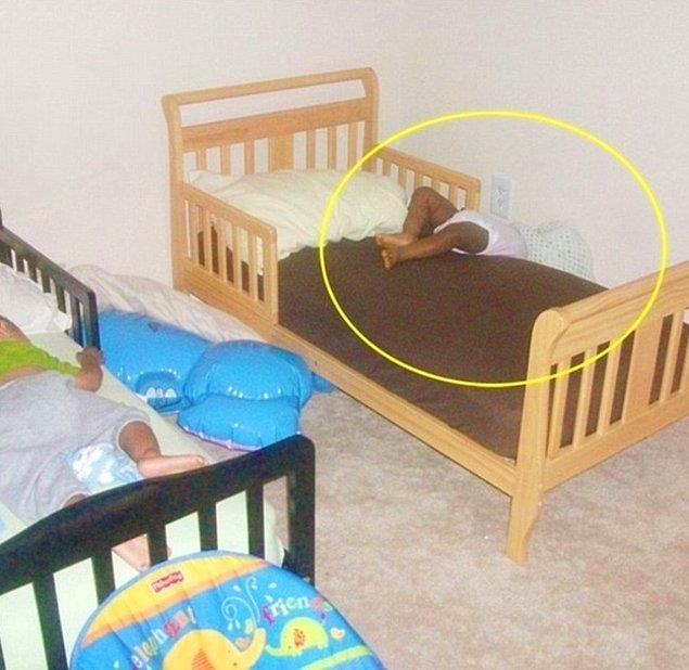 9. Daha rahatsız bir uyku pozisyonu bulabilir misiniz?
