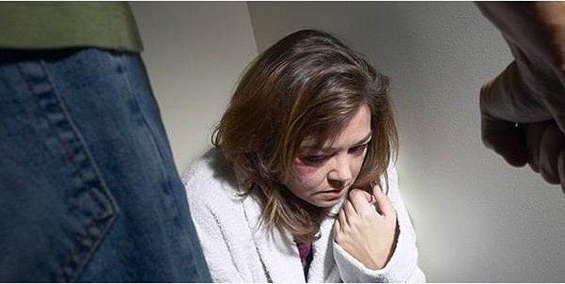 1. Dünya üzerinde yaşayan kadınların yarısı eşlerinden şiddet görüyor.