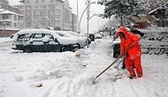 Konya ve Karaman'da Eğitime Kar Engeli